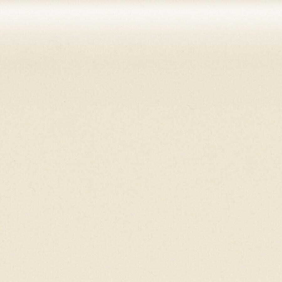American Olean Bright Almond Ceramic Mud Cap Tile (Common: 6-in x 6-in; Actual: 6-in x 6-in)