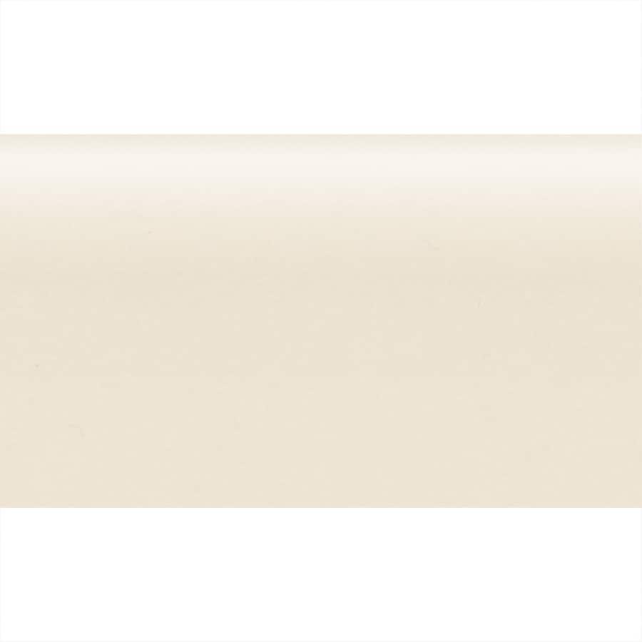 American Olean Bright Almond Ceramic Bullnose Tile (Common: 2-in x 6-in; Actual: 2-in x 6-in)