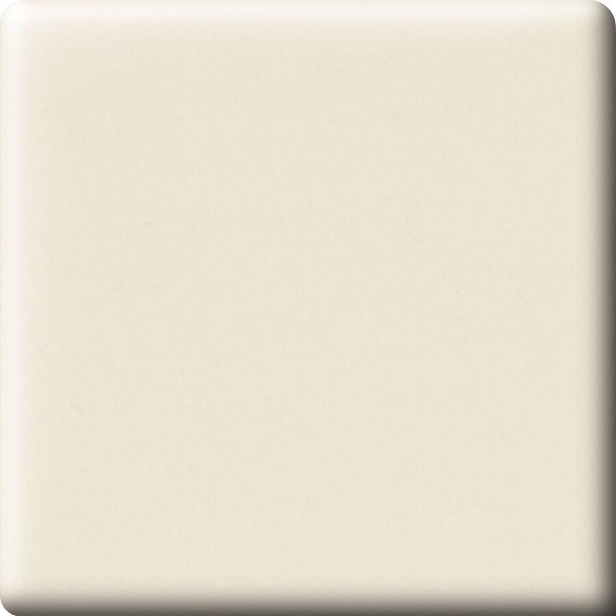 American Olean Bright Almond Ceramic Bullnose Corner Tile (Common: 6-in x 6-in; Actual: 6-in x 6-in)