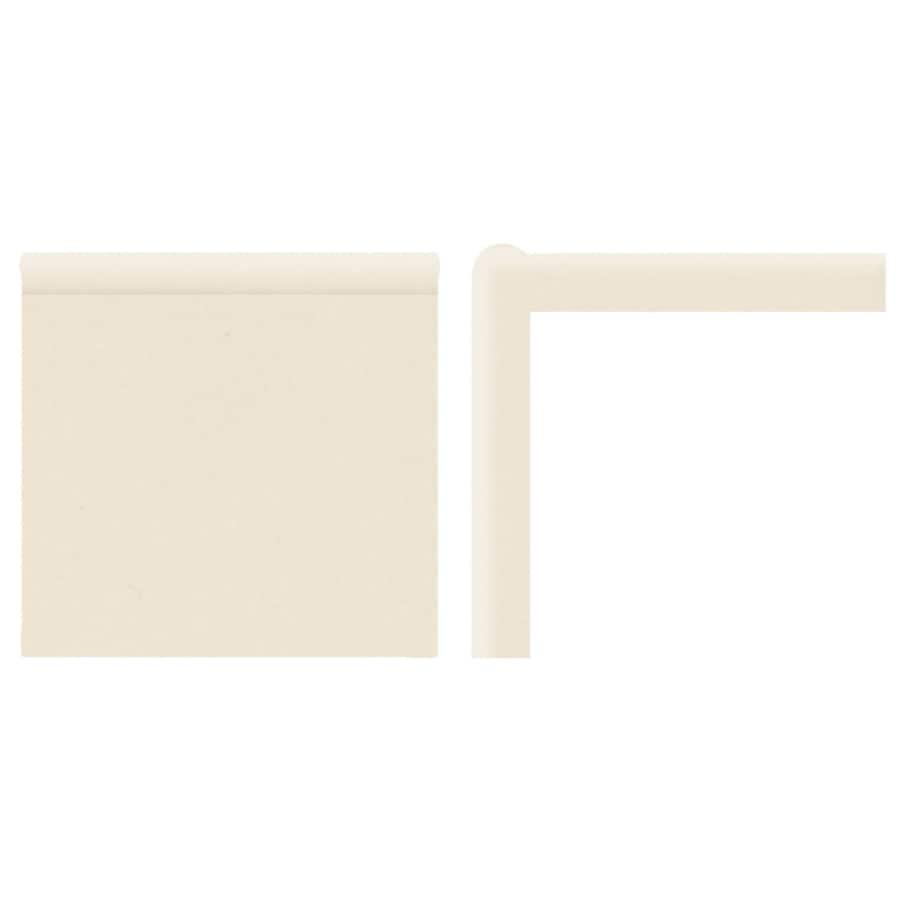 American Olean Bright Almond Ceramic Mud Cap Tile (Common: 2-in x 6-in; Actual: 2-in x 6-in)