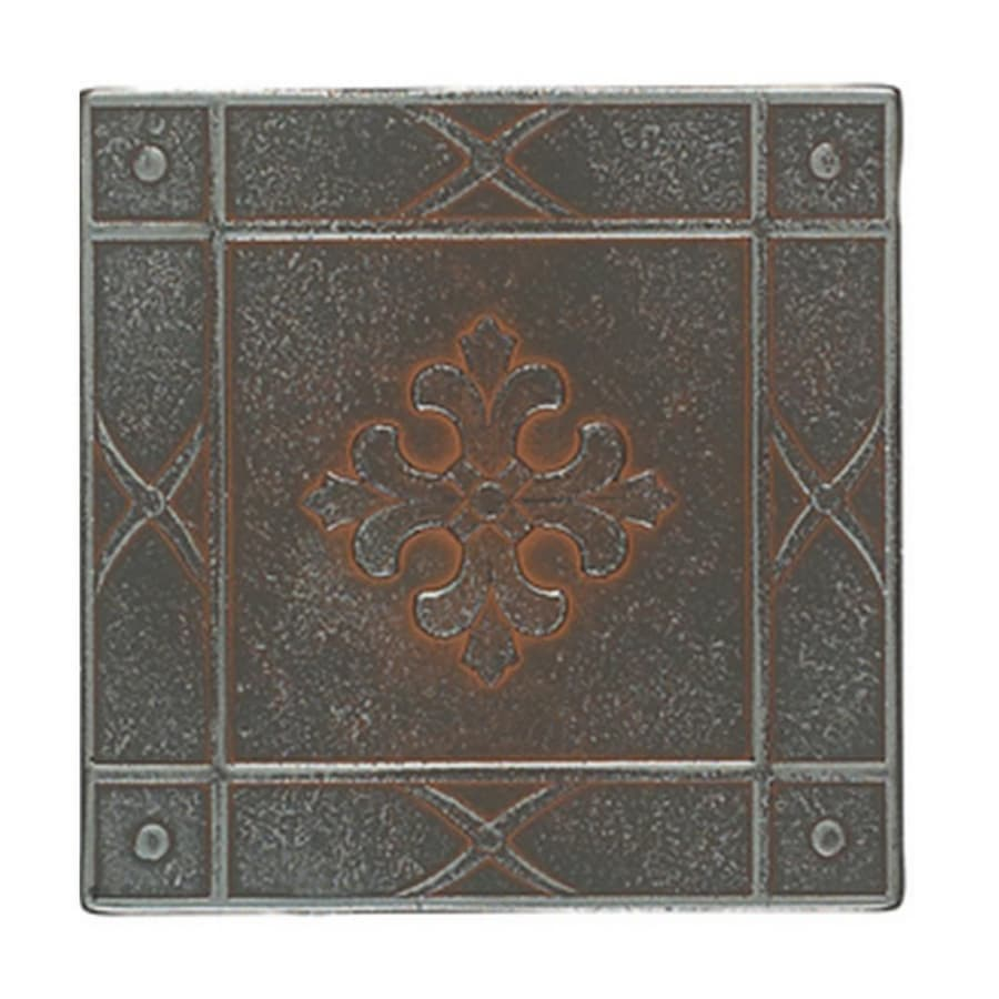 Shop American Olean 6 X 6 Saxon Metals Ceramic Tile At Lowes