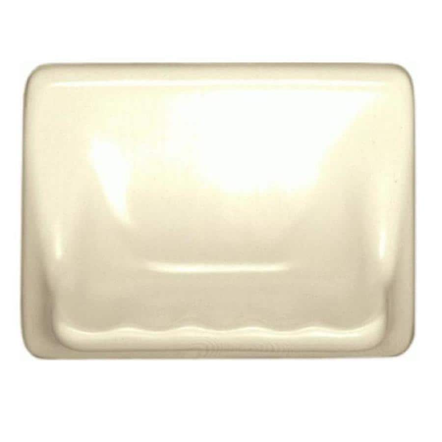 American Olean Bathroom Accessories White Composite Soap Dish