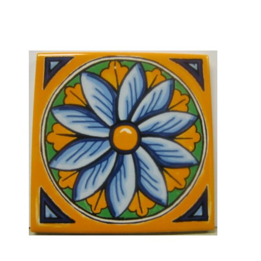 Shop American Olean In X In Decorative Design Star Ceramic - Ceramic tile star designs
