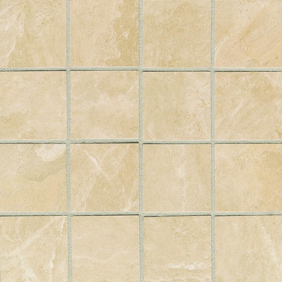 American Olean 5-Pack 12-in x 18-in Siena Springs Cascade Thru Body Porcelain Mosaic Floor Tile