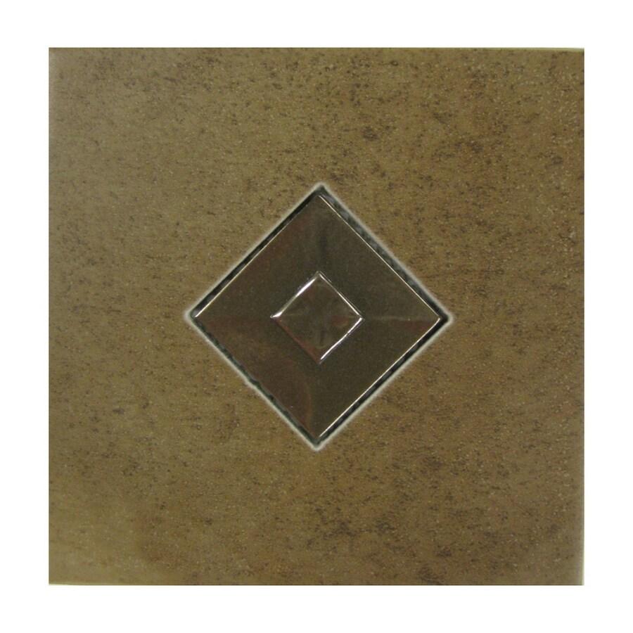 American Olean 6-in x 6-in Cicerone Noche Ceramic Square Accent Tile