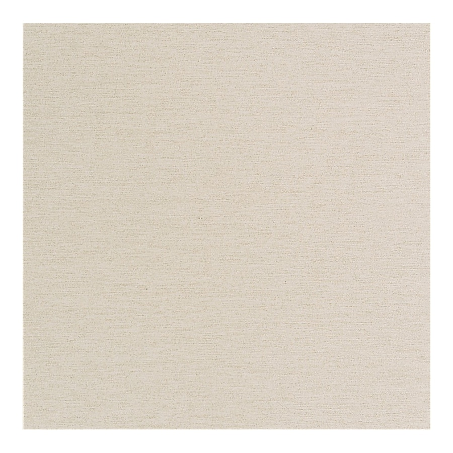 American Olean St Germain 4-Pack Creme Thru Body Porcelain Floor and Wall Tile (Common: 24-in x 24-in; Actual: 23.37-in x 23.37-in)