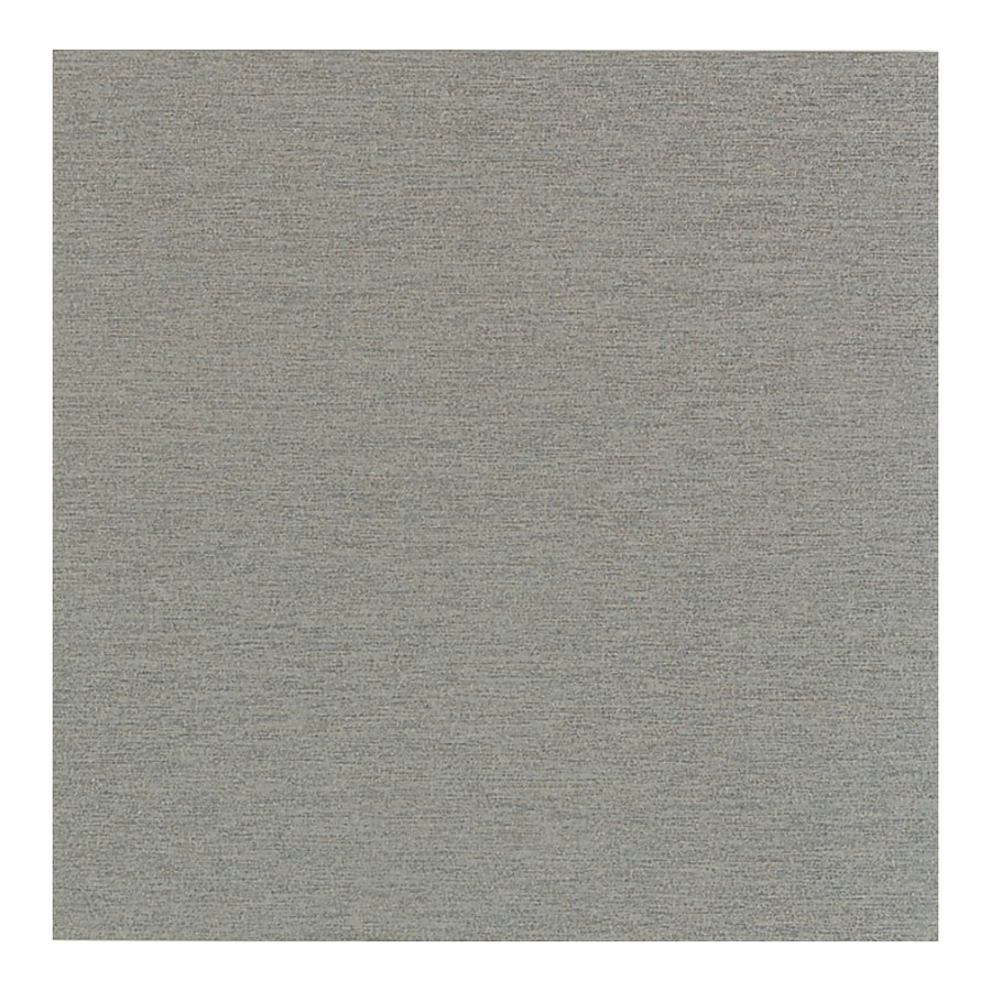American Olean St Germain 4-Pack Gris Thru Body Porcelain Floor and Wall Tile (Common: 24-in x 24-in; Actual: 23.43-in x 23.43-in)