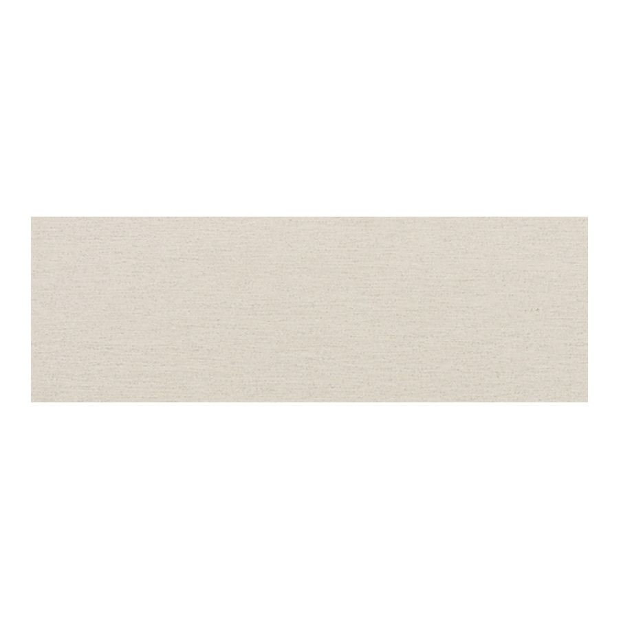 American Olean St Germain Blanc Thru Body Porcelain Bullnose Tile (Common: 3-in x 12-in; Actual: 2.87-in x 11.5-in)