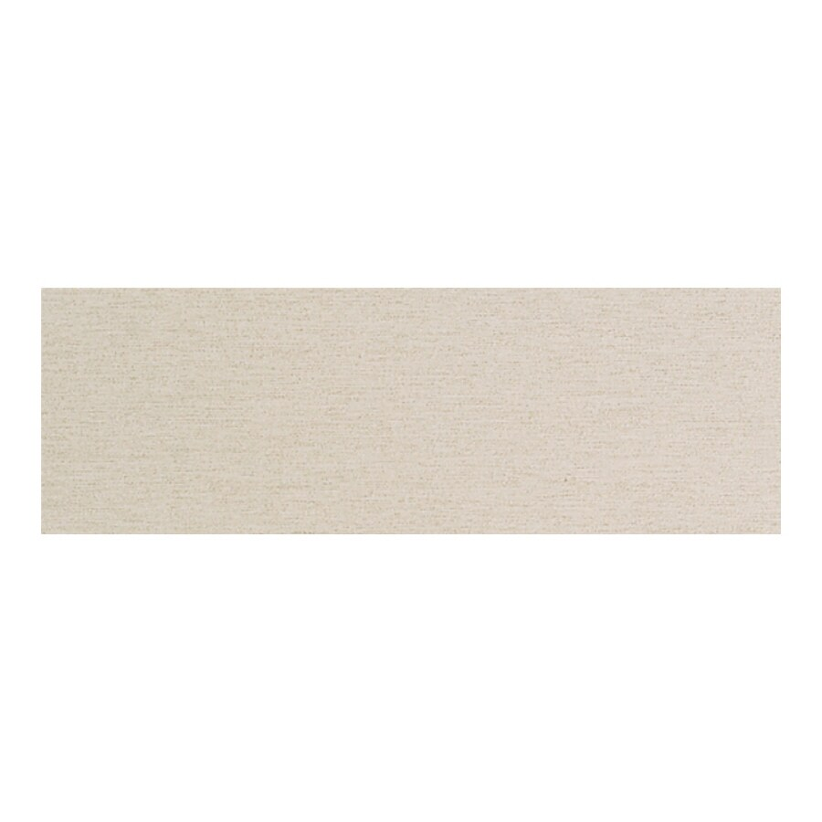 American Olean St Germain Creme Thru Body Porcelain Bullnose Tile (Common: 3-in x 12-in; Actual: 2.87-in x 11.5-in)