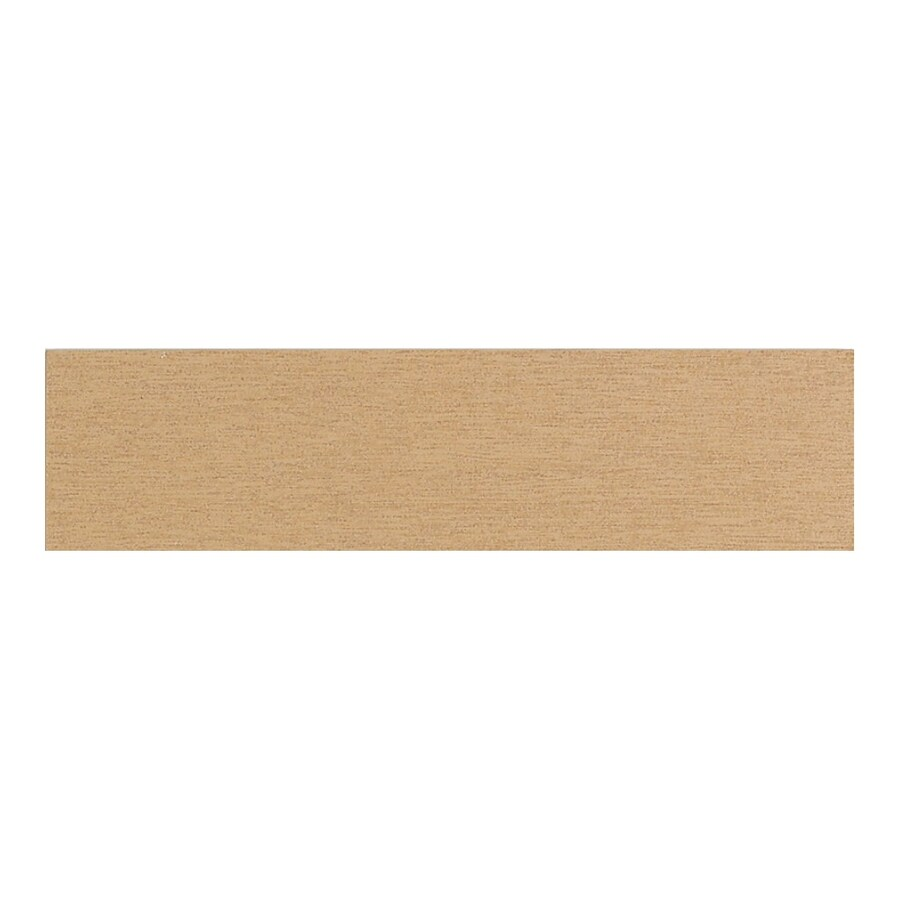 American Olean St Germain or Thru Body Porcelain Bullnose Tile (Common: 3-in x 12-in; Actual: 2.87-in x 11.5-in)