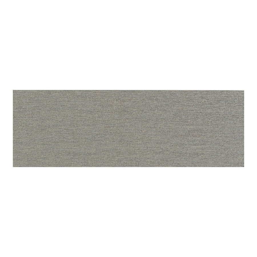 American Olean St Germain Gris Thru Body Porcelain Bullnose Tile (Common: 3-in x 12-in; Actual: 2.87-in x 11.5-in)