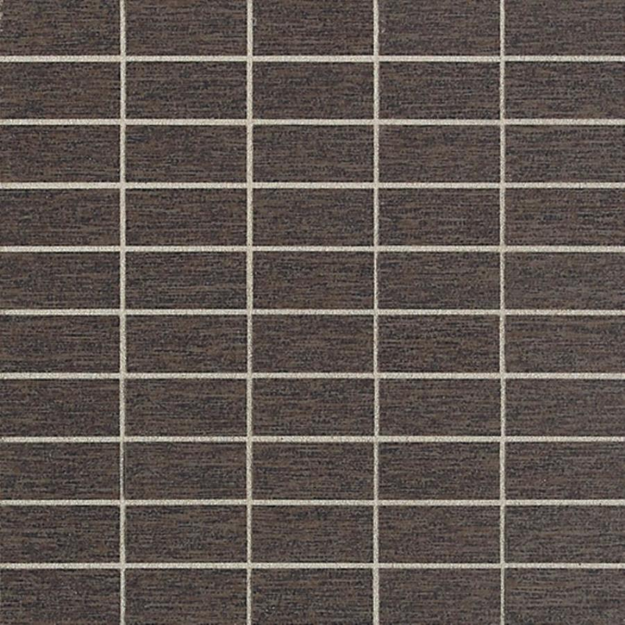 American Olean St Germain 11-Pack Sable Brick Mosaic Thru Body Porcelain Floor and Wall Tile (Common: 12-in x 12-in; Actual: 11.5-in x 11.5-in)