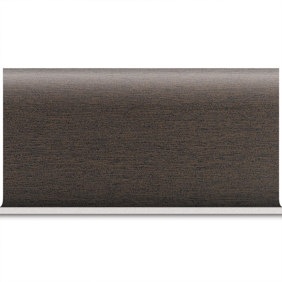 American Olean St Germain Chocolate Porcelain Cove Base Tile (Common: 8-in x 10-in; Actual: 6-in x 12-in)