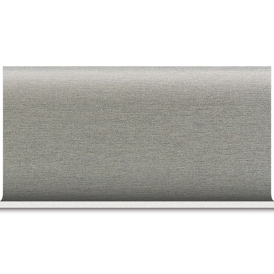 American Olean St Germain Gris Porcelain Cove Base Tile (Common: 8-in x 10-in; Actual: 6-in x 12-in)