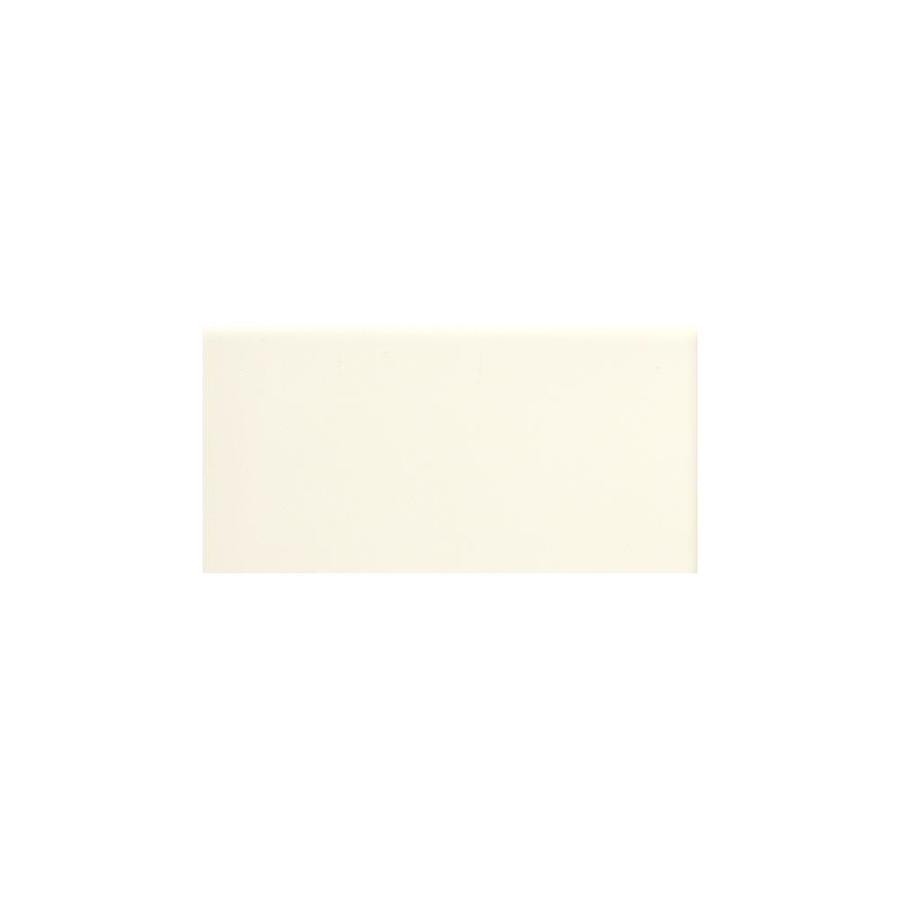 American Olean Profiles 100-Pack Biscuit Matte Ceramic Wall Tile (Common: 3-in x 6-in; Actual: 3-in x 6-in)