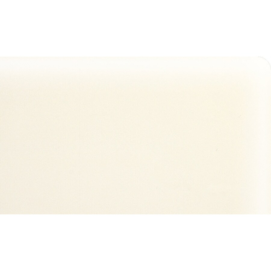 American Olean Matte Biscuit Ceramic Bullnose Corner Tile (Common: 3-in x 6-in; Actual: 3-in x 6-in)