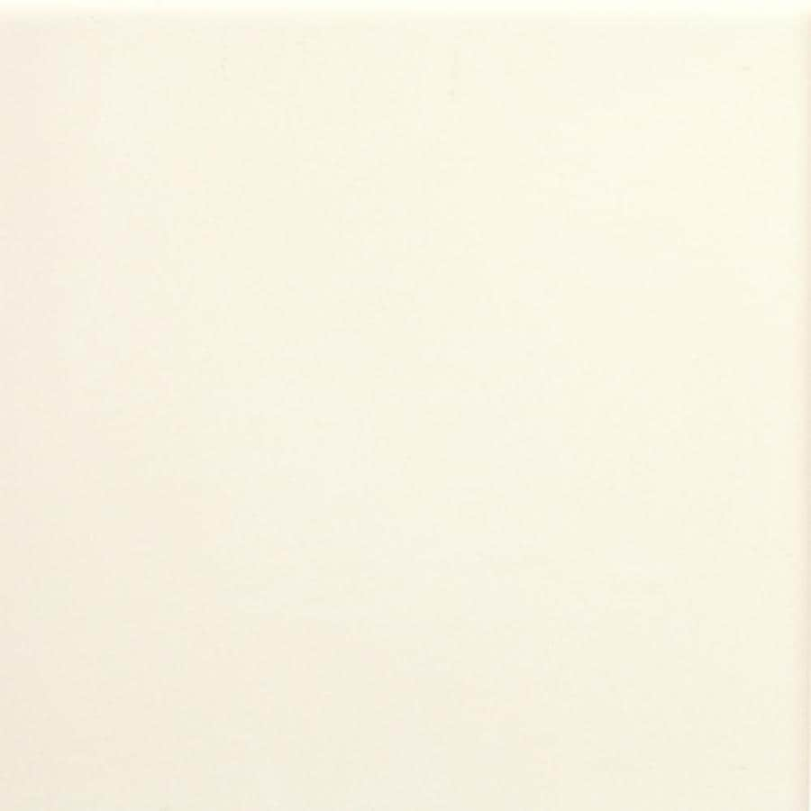 American Olean Bright 100-Pack Biscuit Gloss Ceramic Wall Tile (Common: 4-in x 4-in; Actual: 4.25-in x 4.25-in)
