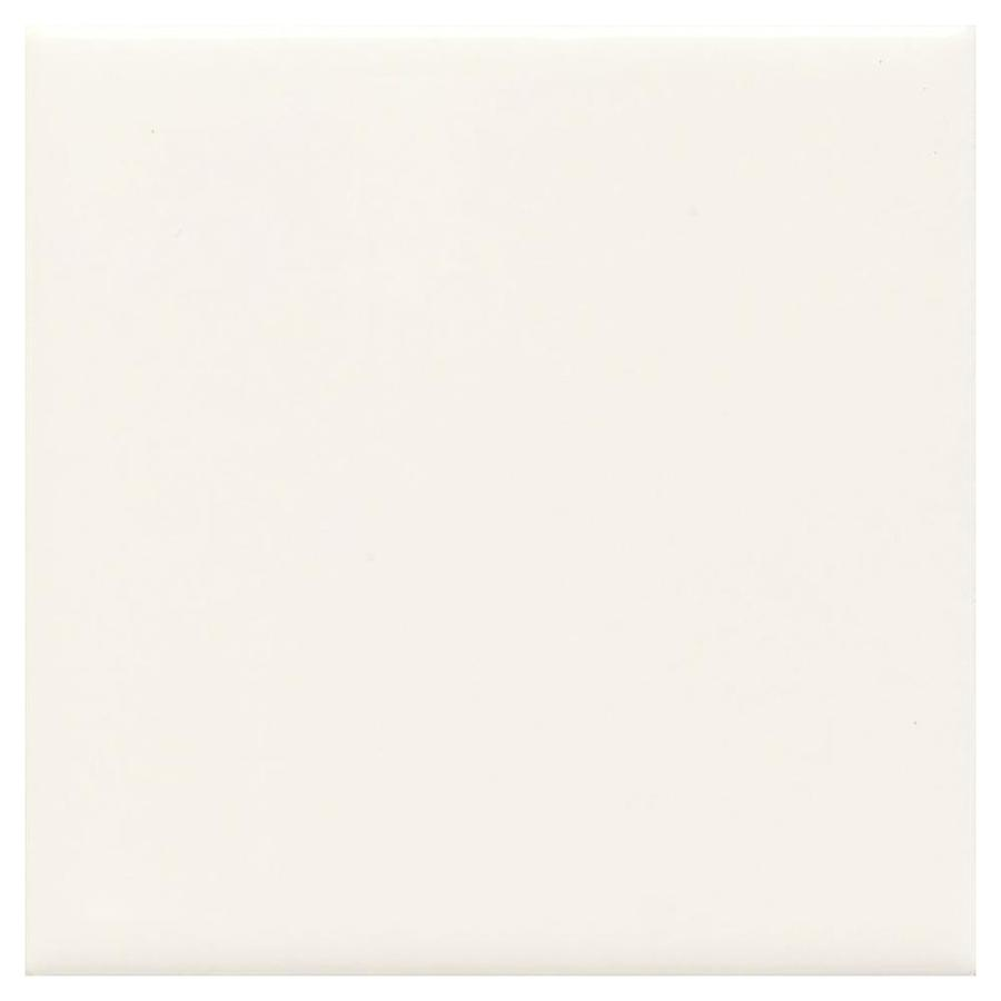 American Olean Bright 100 Pack White Gloss 4 In X 4 In