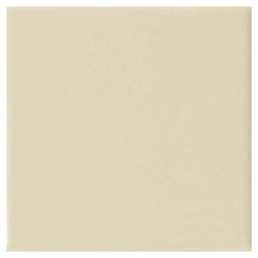 American Olean Matte 100-Pack Sand Dollar Matte Ceramic Wall Tile (Common: 4-in x 4-in; Actual: 4.25-in x 4.25-in)
