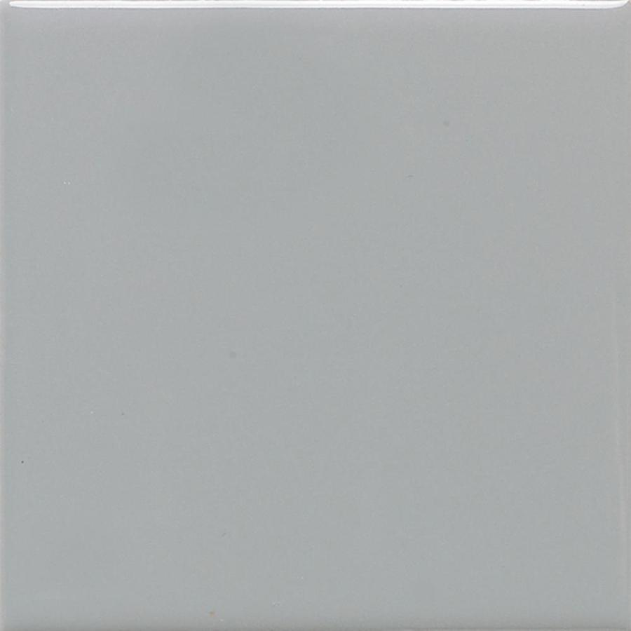 American Olean Bright 100-Pack Light Smoke Gloss Ceramic Wall Tile (Common: 4-in x 4-in; Actual: 4.25-in x 4.25-in)
