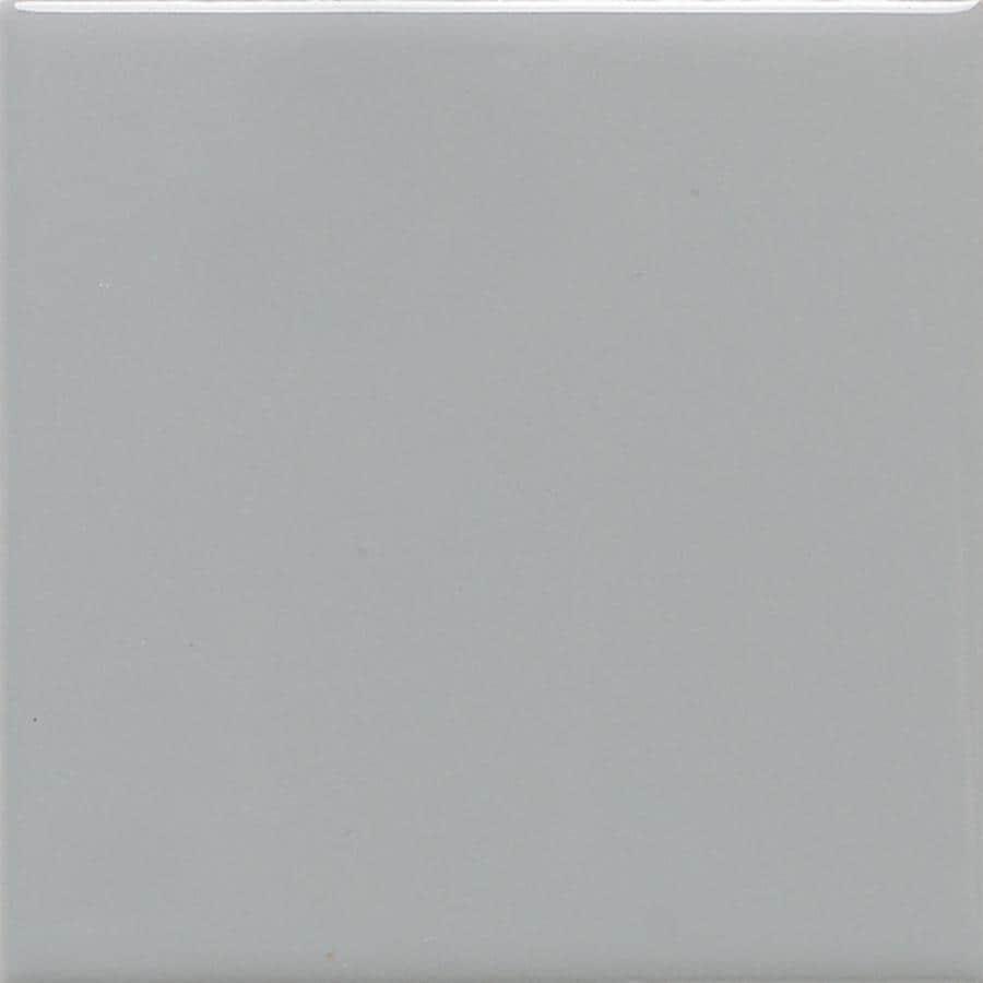Shop American Olean Bright 100 Pack Light Smoke Gloss