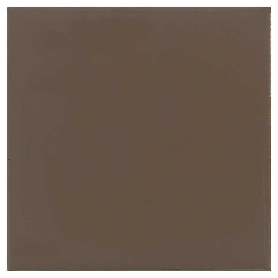 American Olean Matte 100-Pack Nutmeg Matte Ceramic Wall Tile (Common: 4-in x 4-in; Actual: 4.25-in x 4.25-in)