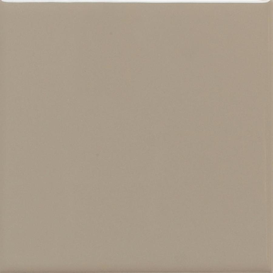 American Olean Bright 100-Pack Mushroom Gloss Ceramic Wall Tile (Common: 4-in x 4-in; Actual: 4.25-in x 4.25-in)