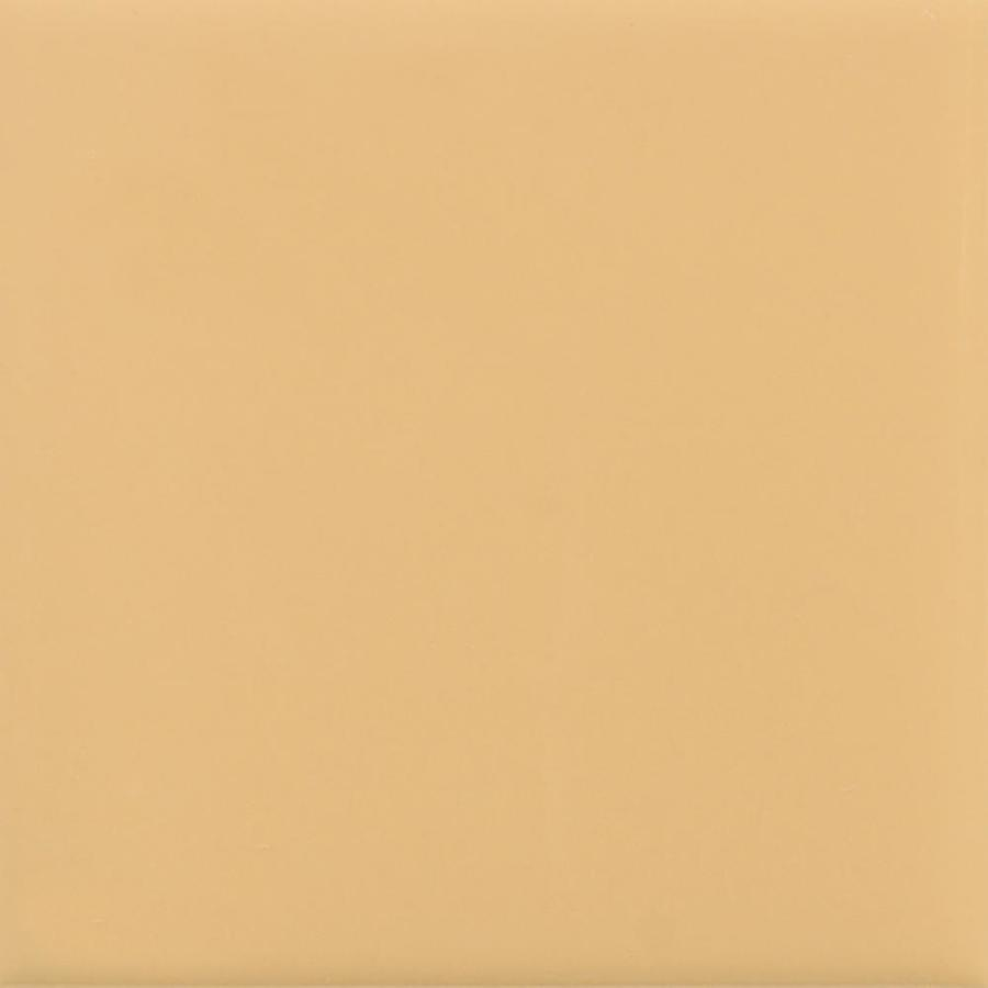 American Olean Bright 100-Pack Lemon Chiffon Gloss Ceramic Wall Tile (Common: 4-in x 4-in; Actual: 4.25-in x 4.25-in)