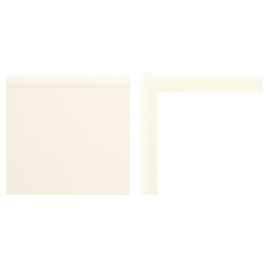 American Olean Bright Biscuit Ceramic Mud Cap Tile (Common: 2-in x 6-in; Actual: 2-in x 6-in)