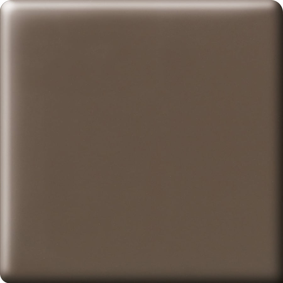 American Olean Bright Nutmeg Ceramic Bullnose Corner Tile (Common: 6-in x 6-in; Actual: 6-in x 6-in)