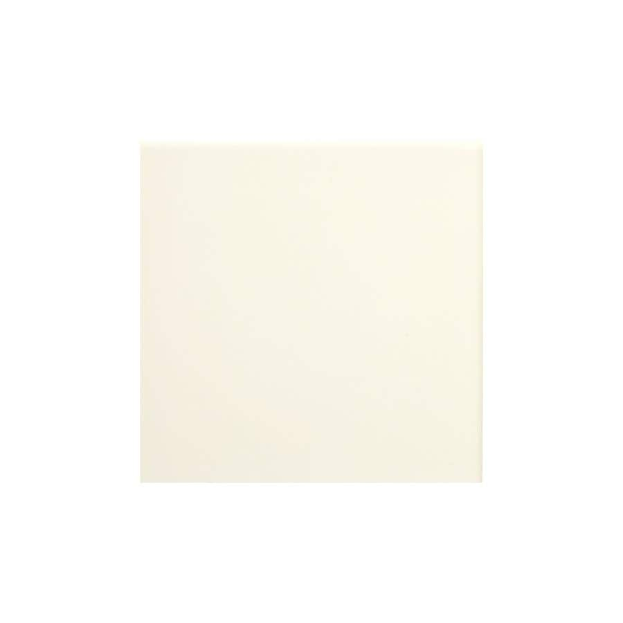American Olean Bright Biscuit Gloss Ceramic Bullnose Corner Tile (Common: 6-in x 6-in; Actual: 6-in x 6-in)