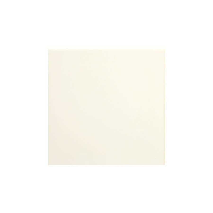 American Olean Matte Biscuit Matte Ceramic Bullnose Corner Tile (Common: 4-in x 4-in; Actual: 4.25-in x 4.25-in)