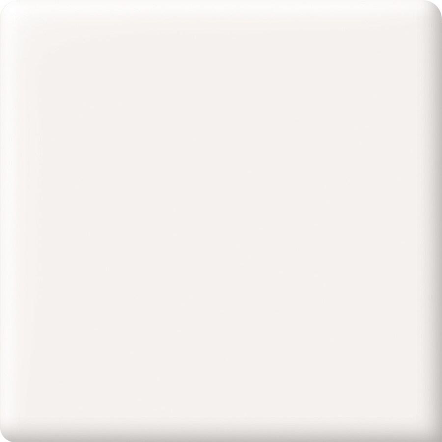 American Olean Bright White Ceramic Bullnose Corner Tile (Common: 2-in x 2-in; Actual: 2-in x 2-in)