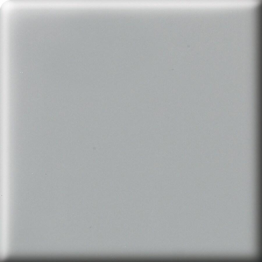 American Olean Bright Light Smoke Ceramic Bullnose Corner Tile (Common: 2-in x 2-in; Actual: 2-in x 2-in)