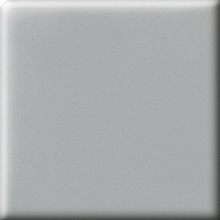 American Olean Matte Light Smoke Ceramic Bullnose Tile (Common: 2-in x 2-in; Actual: 2-in x 2-in)