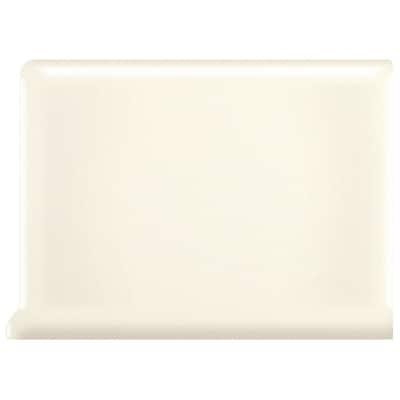 American Olean Bright Biscuit Ceramic Cove Base Tile (Common