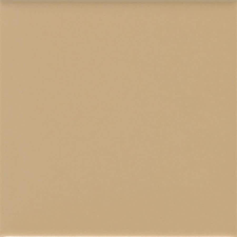 American Olean Matte 50-Pack Cappuccino Matte Ceramic Wall Tile (Common: 6-in x 6-in; Actual: 6-in x 6-in)