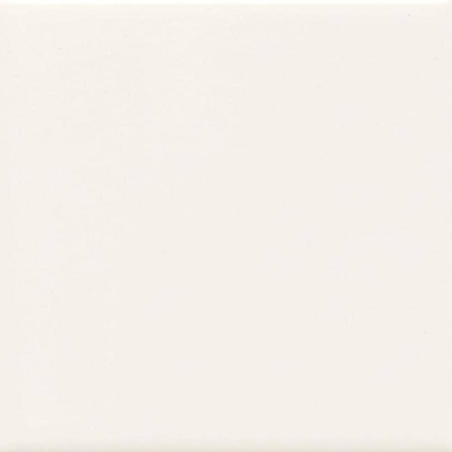 American Olean Bright 50-Pack White Gloss Ceramic Wall Tile (Common: 6-in x 6-in; Actual: 6-in x 6-in)