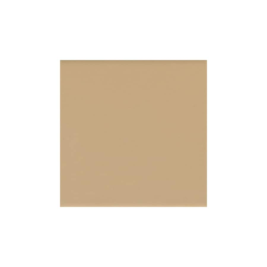 American Olean 50-Pack Bright Cappuccino Gloss Ceramic Wall Tile (Common: 6-in x 6-in; Actual: 6-in x 6-in)