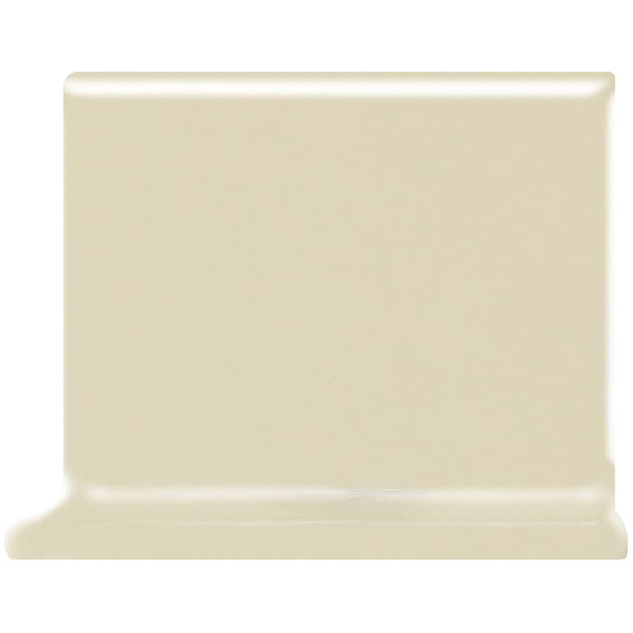 American Olean Matte Sand Dollar Ceramic Cove Base Tile (Common: 4-in x 4-in; Actual: 4.25-in x 4.25-in)