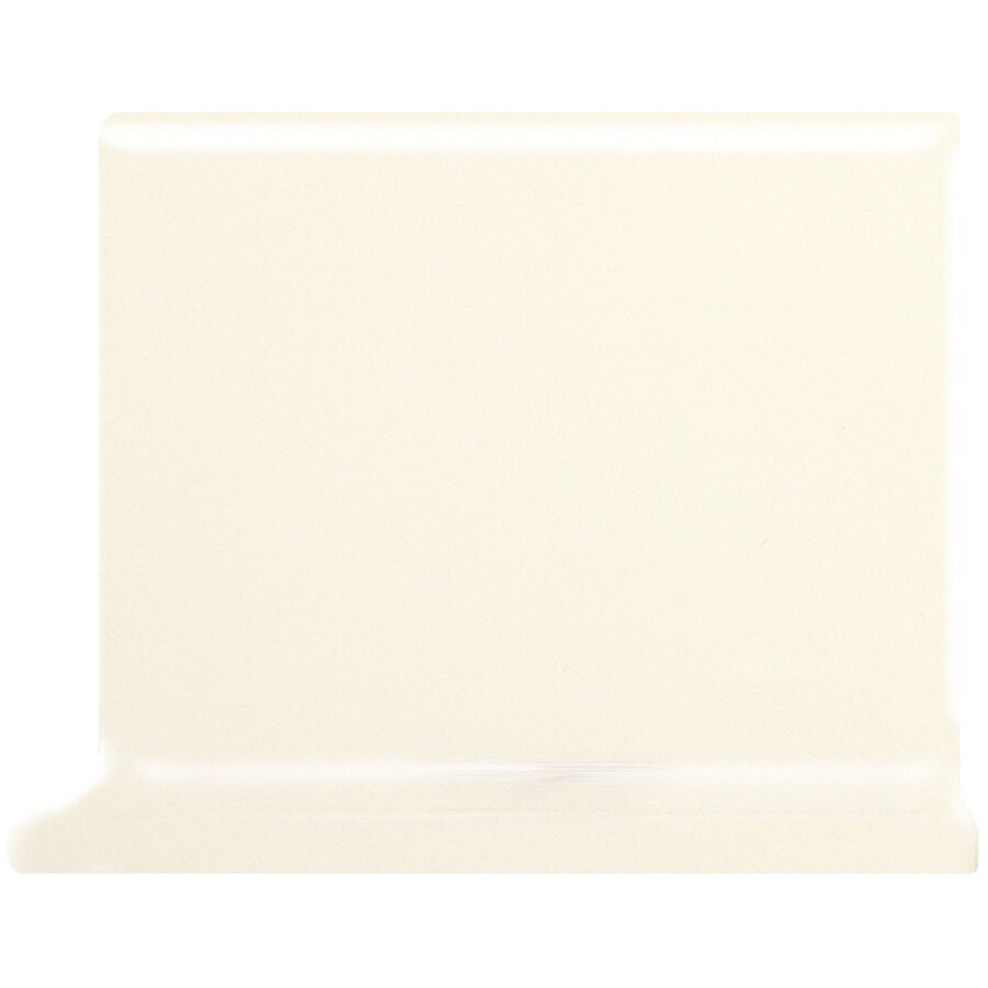 American Olean Matte Biscuit Ceramic Cove Base Tile (Common: 4-in x 4-in; Actual: 4.25-in x 4.25-in)