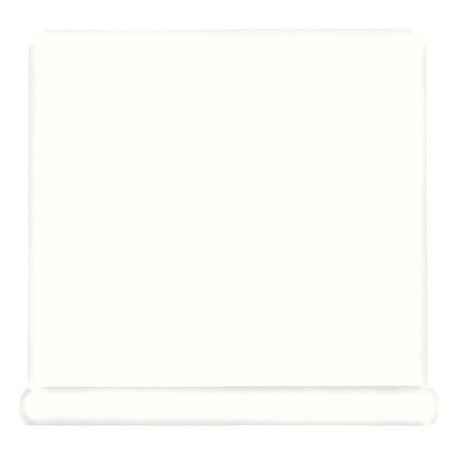 American Olean Bright White Ceramic Cove Base Tile (Common: 4-in x 4-in; Actual: 4.25-in x 4.25-in)
