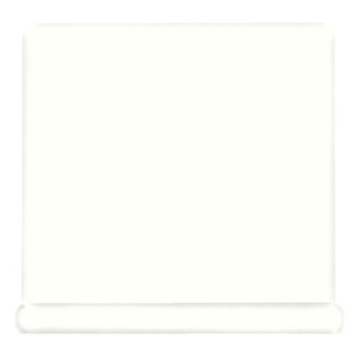 American Olean Bright White Ceramic Cove Base Tile Common