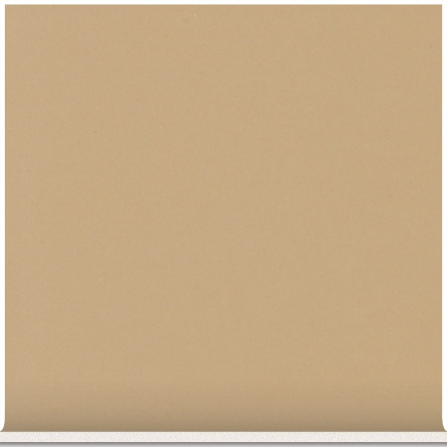 American Olean Matte Cappuccino Ceramic Cove Base Tile (Common: 4-in x 4-in; Actual: 4.25-in x 4.25-in)