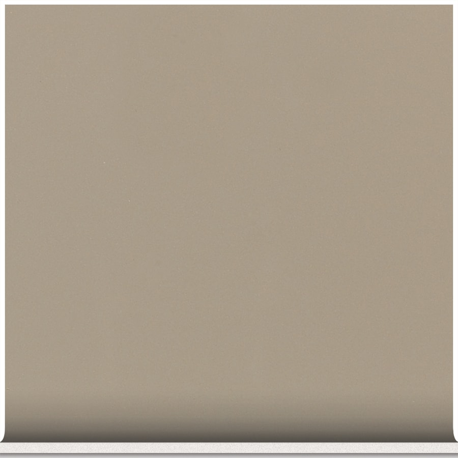 American Olean Matte Mushroom Ceramic Cove Base Tile (Common: 4-in x 4-in; Actual: 4.25-in x 4.25-in)
