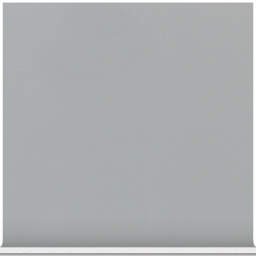 American Olean Matte Light Smoke Ceramic Cove Base Tile (Common: 6-in x 6-in; Actual: 6-in x 6-in)
