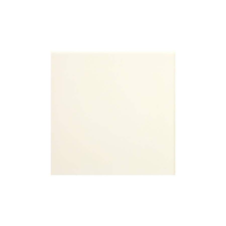 American Olean Matte Biscuit Matte Ceramic Bullnose Tile (Common: 6-in x 6-in; Actual: 6-in x 6-in)