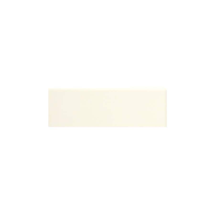 American Olean Bright Biscuit Gloss Ceramic Mud Cap Tile (Common: 2-in x 6-in; Actual: 2-in x 6-in)