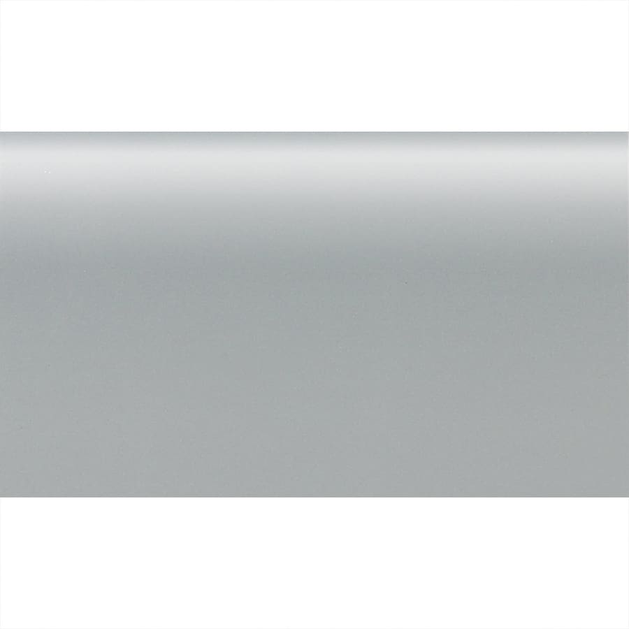 American Olean Matte Light Smoke Ceramic Bullnose Tile Common 2 In X 6