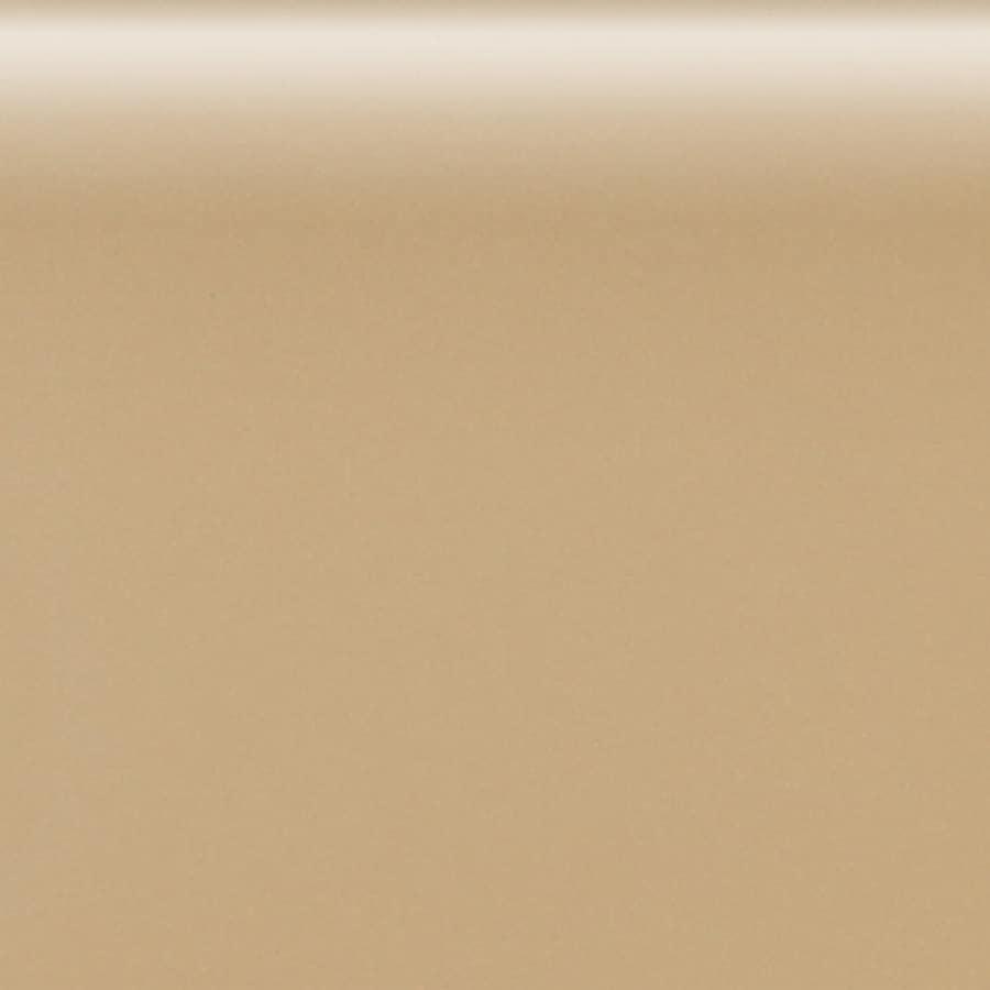 American Olean Matte Cappuccino Ceramic Bullnose Tile (Common: 4-in x 4-in; Actual: 4.25-in x 4.25-in)